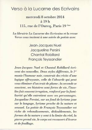 Verso paris 1